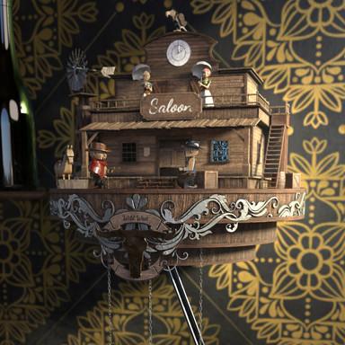Wildwest Cuckoo Clock