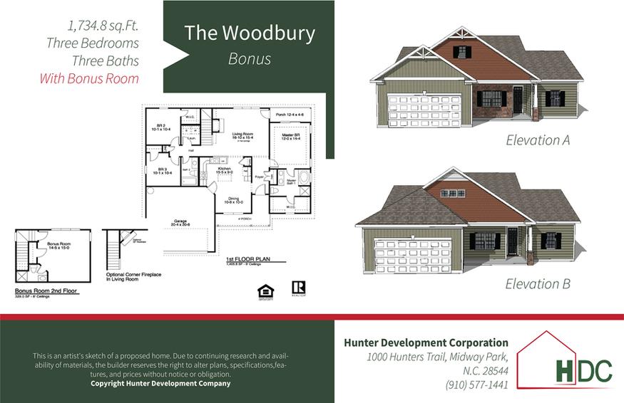 Woodbury - Bonus