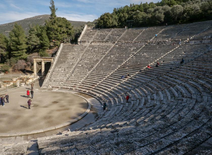Le théâtre antique d'Epidavros