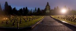 Le cimetière de Crespi d'Adda