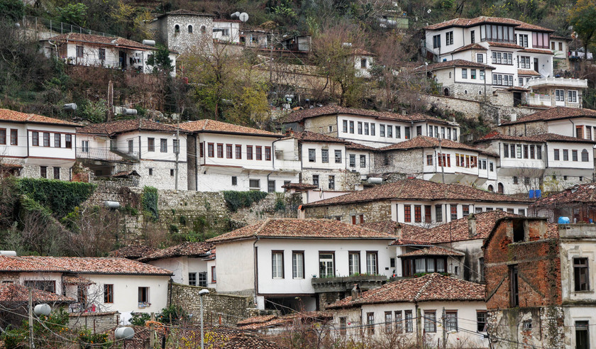 Le quartier Gorica de Berat