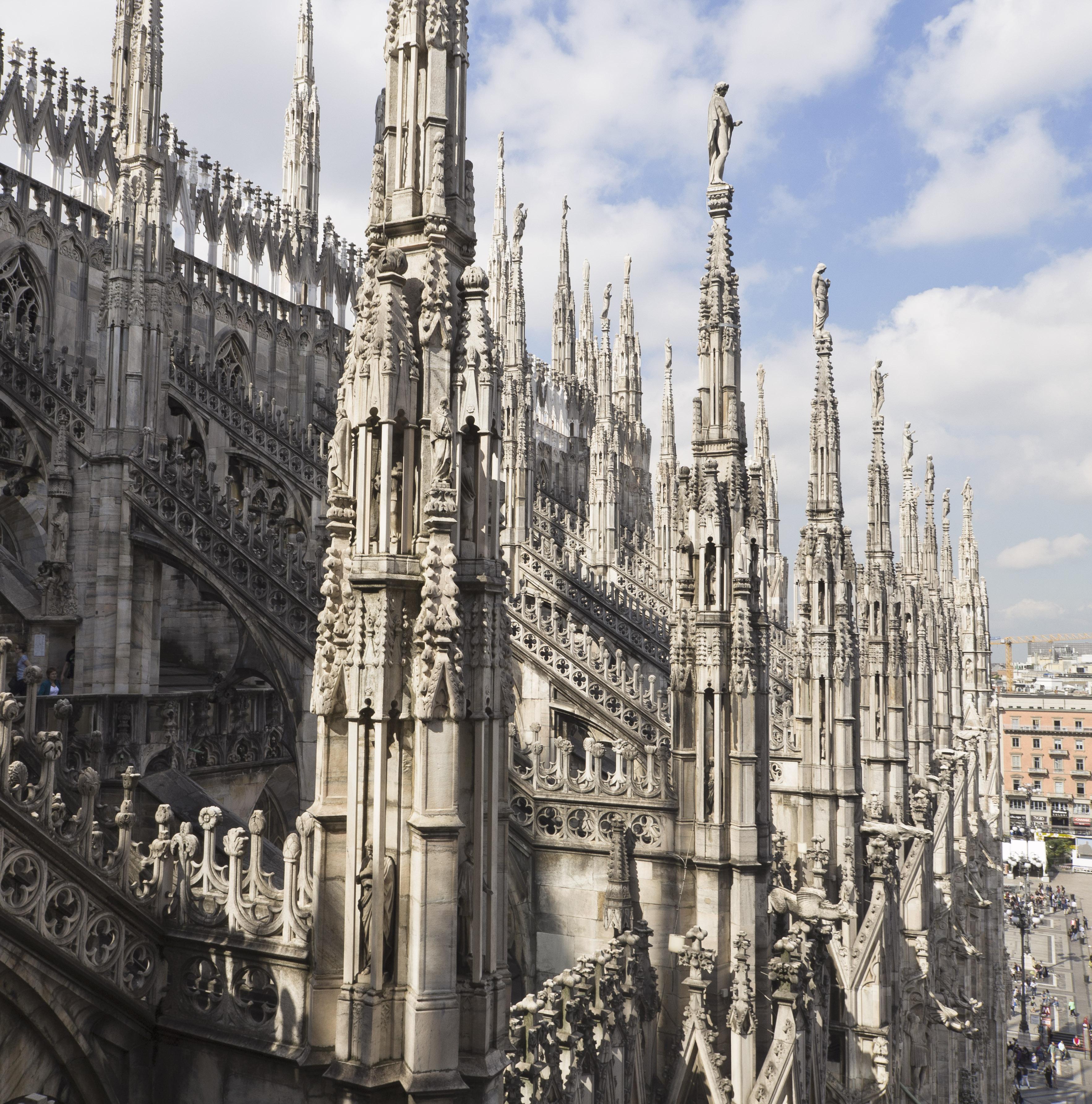 Les statues du Duomo