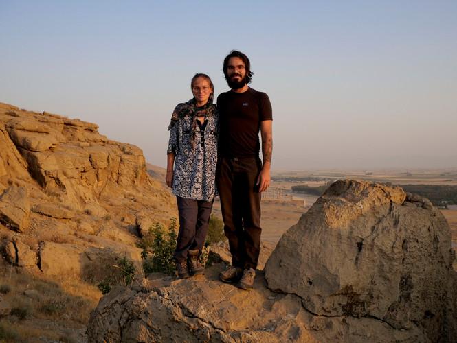 Sur les hauteurs de Marvdasht