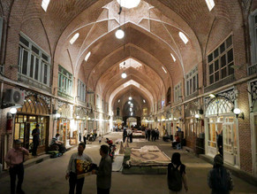 Le Bazaar de Tabriz