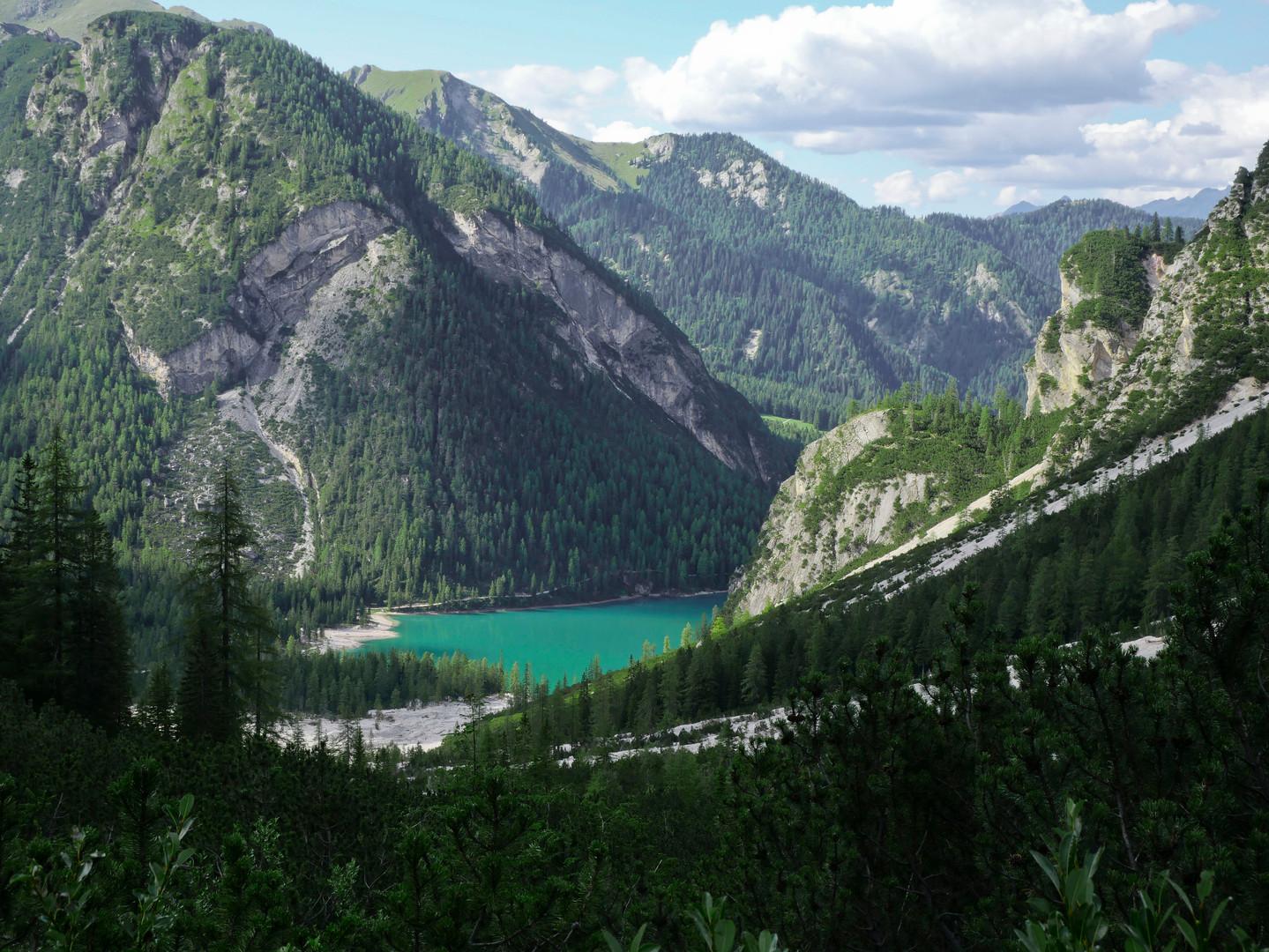 Vue sur le Lago di Braies