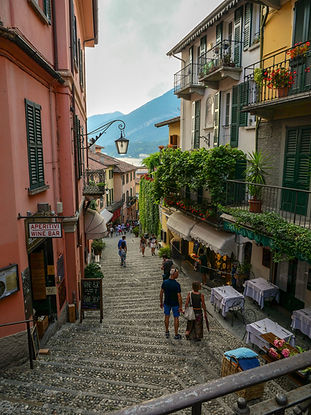 Les ruelles de Bellagio