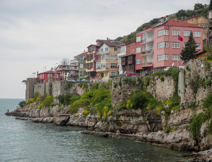 Les fortifications d'Amasra
