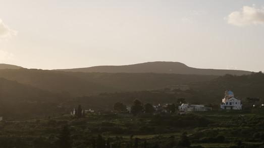 Vue depuis les hauteurs de Koutani