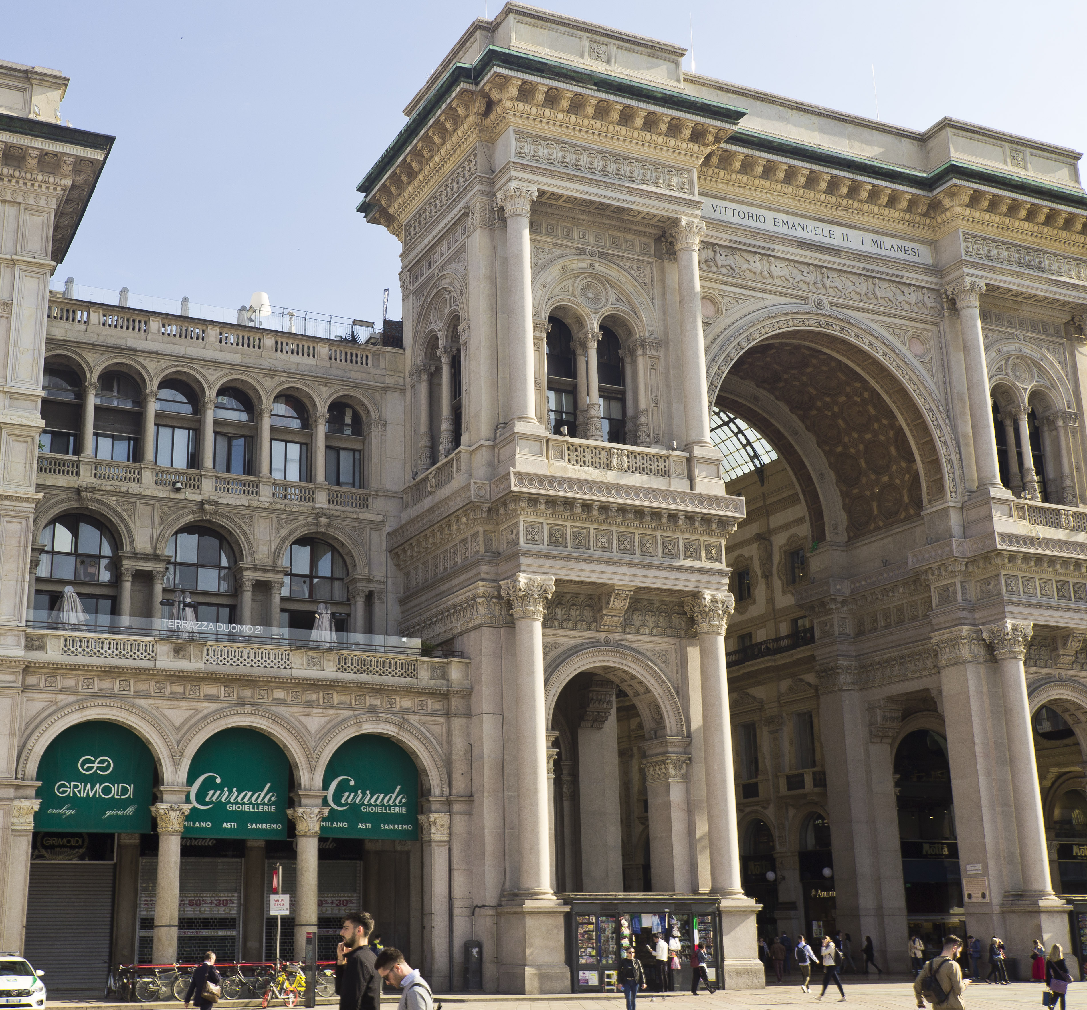La Galleria Vittorio Emanuele II
