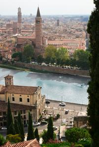 Vue depuis le Castel Pietro