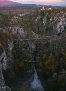 Le point de vue sur Skocjan Caves