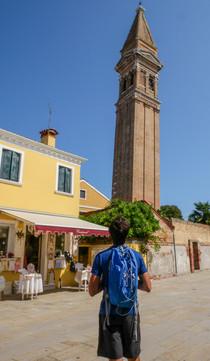Burano et son campanile qui penche