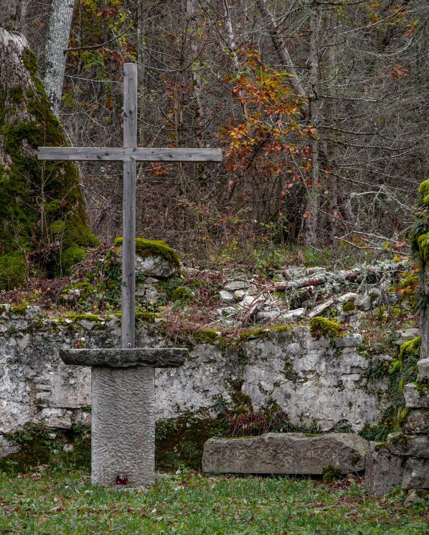 Chapelle secrète de Pivka
