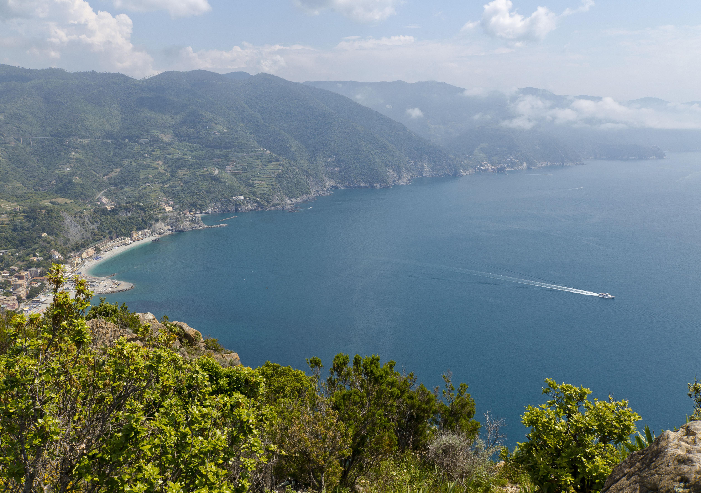 Panorama sur les Cinque Terre