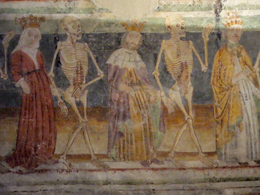 Détail de la Danse Macabre de Hrastovlje
