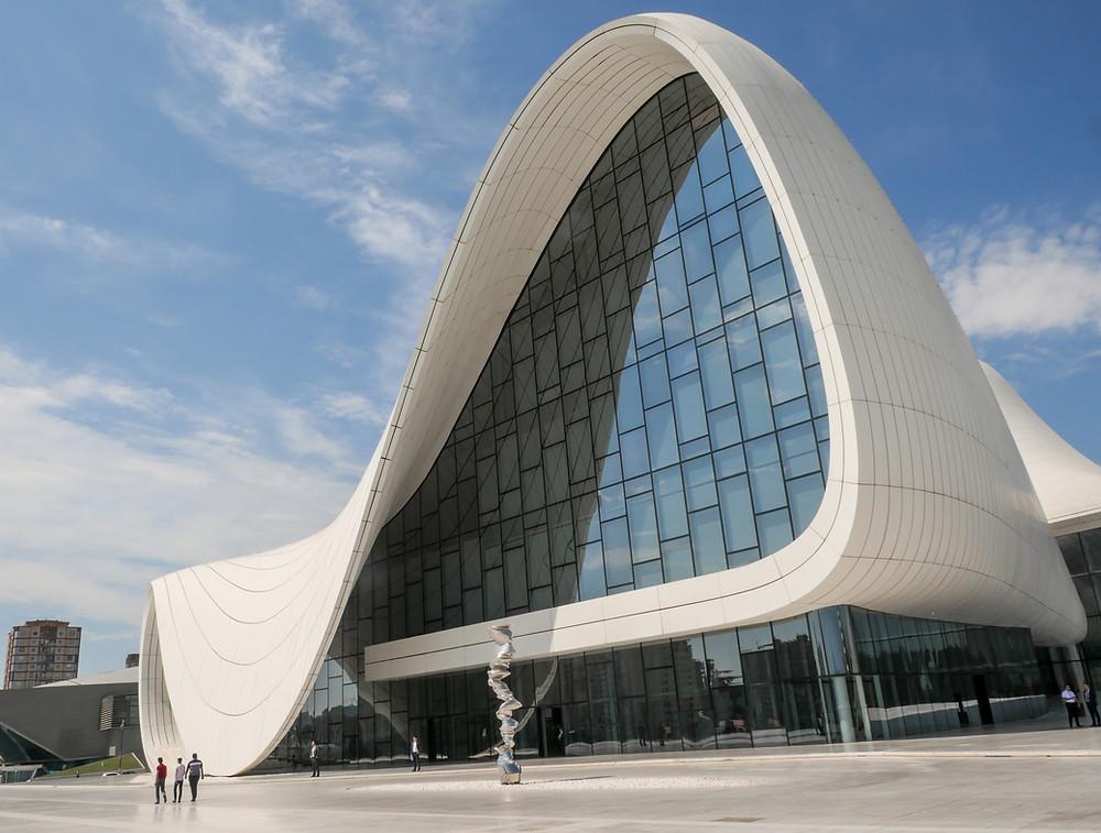 Le centre culturel Heydar Alijev