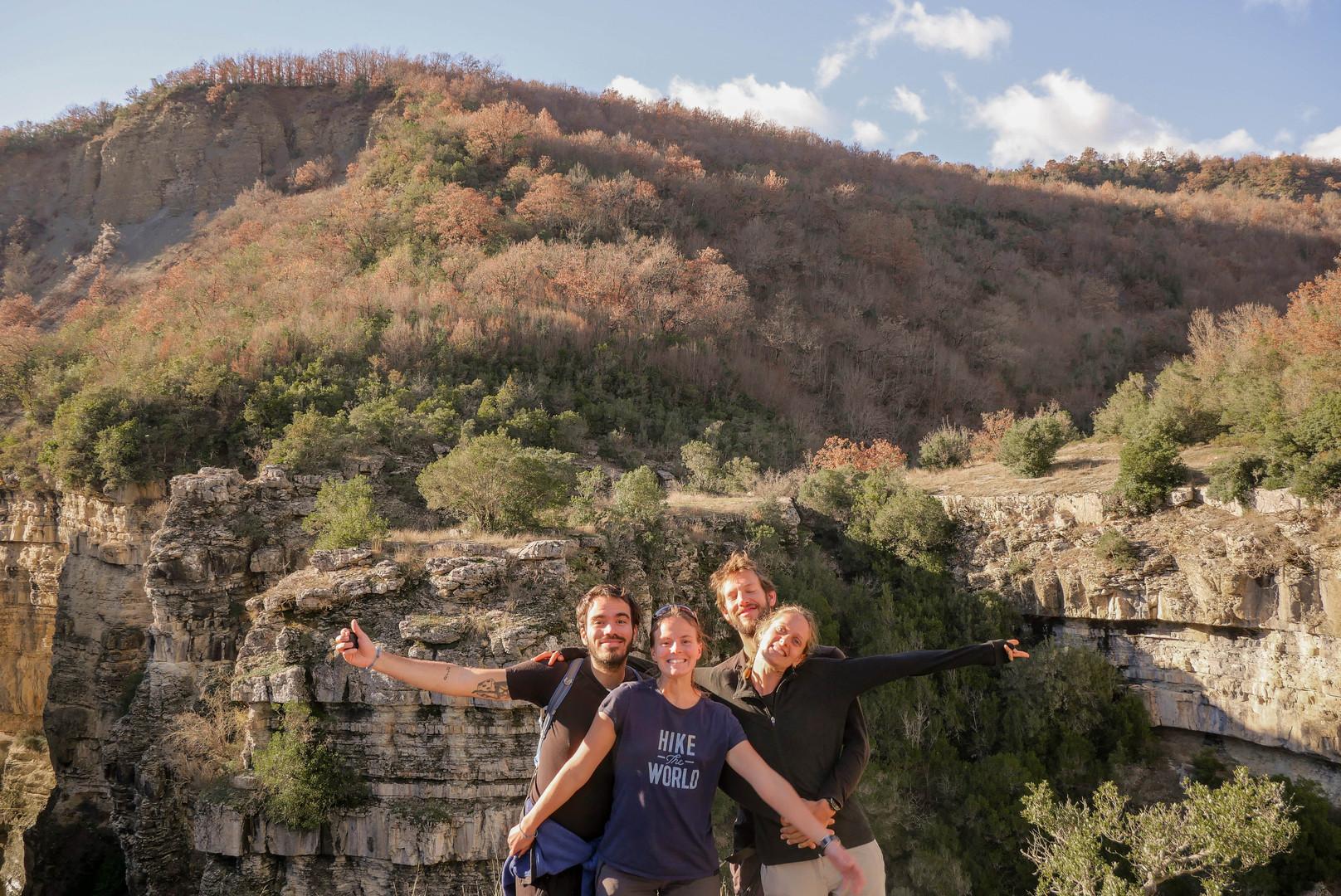 Randonnée au canyon de Lengarice