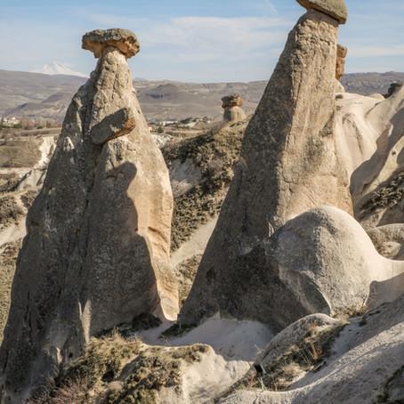 Les Cappadoce et l'Anatolie, 6 jours dans la chaleur et la poussière du cœur de la Turquie.