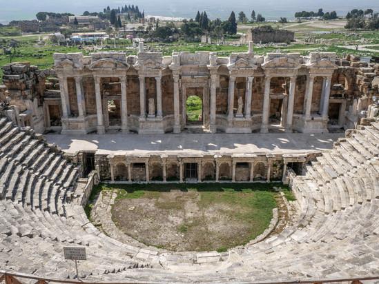 L'amphithéâtre de Hierapolis