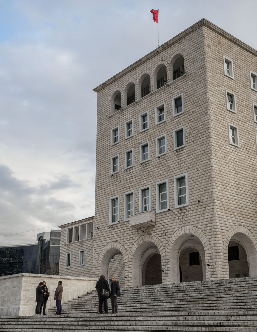 L'université de Tirana