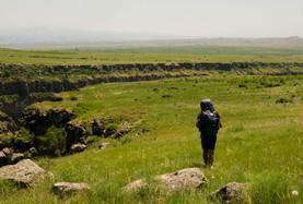 Randonnée au-dessus des Gorges de Kasagh