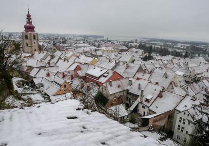 Panorama depuis les terrasses du Château