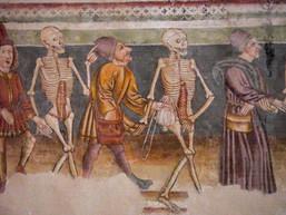 Hrastovjle détail de la danse macabre