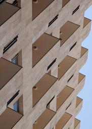 Architecture moderne d'Erevan