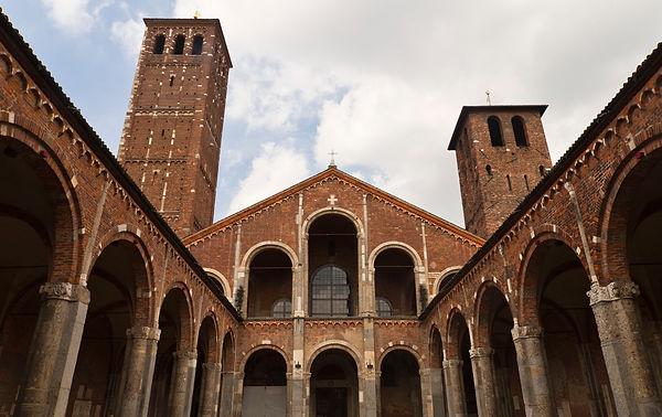 La basilique Sant'Ambrogio