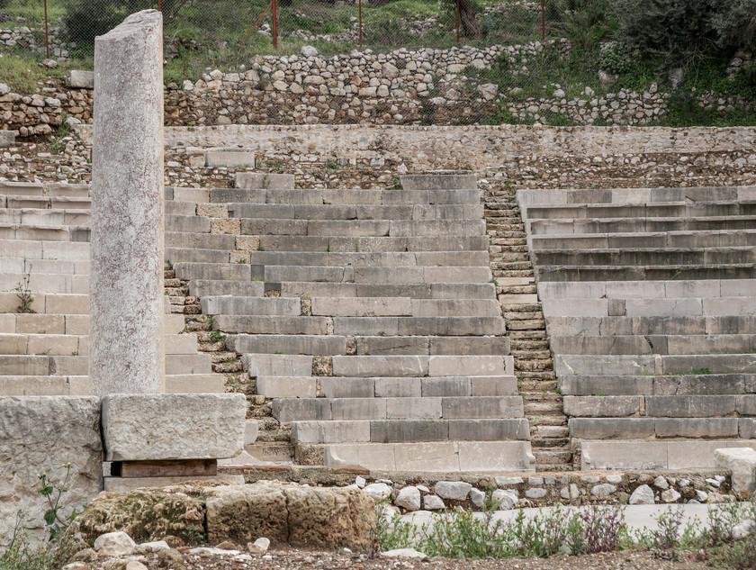 Le théâtre de Palaia Epidavros