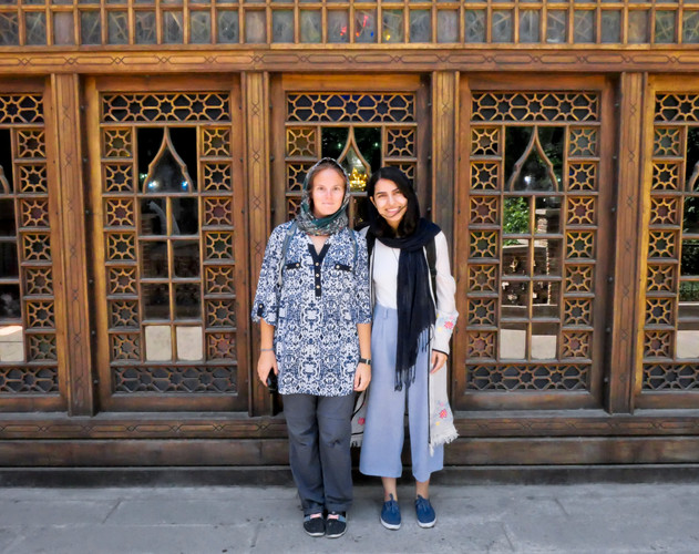 "Soodie, notre ""guide"" à Tabriz"