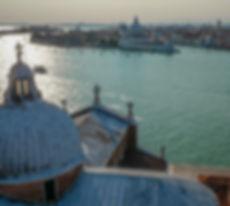 La vue sur Santa Maria della Salute