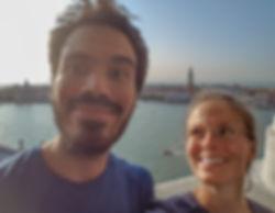 Selfie depuis le campanile de San Giorgio Maggiore