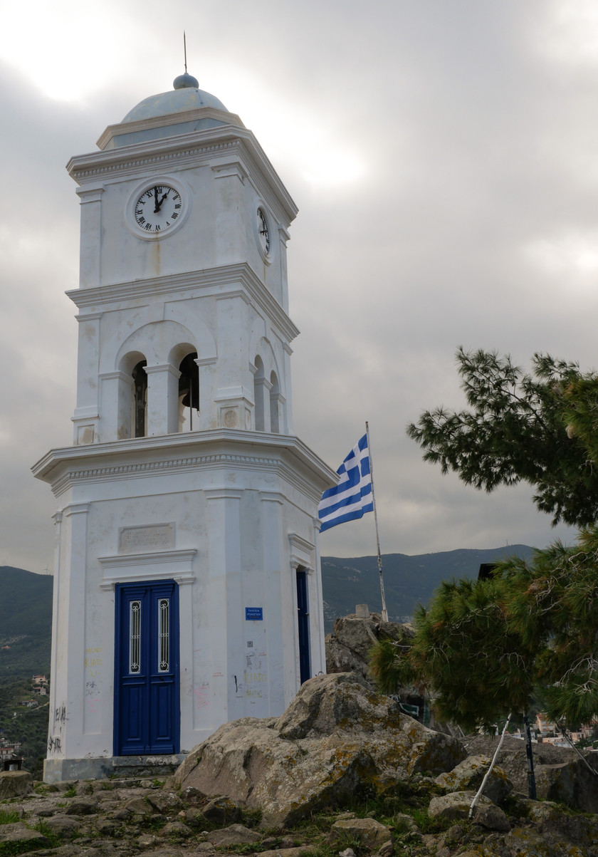 La tour de l'horloge de Poros