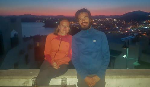Vue sur Bodrum by night