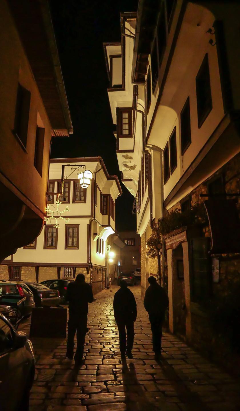 La veille ville d'Ohrid