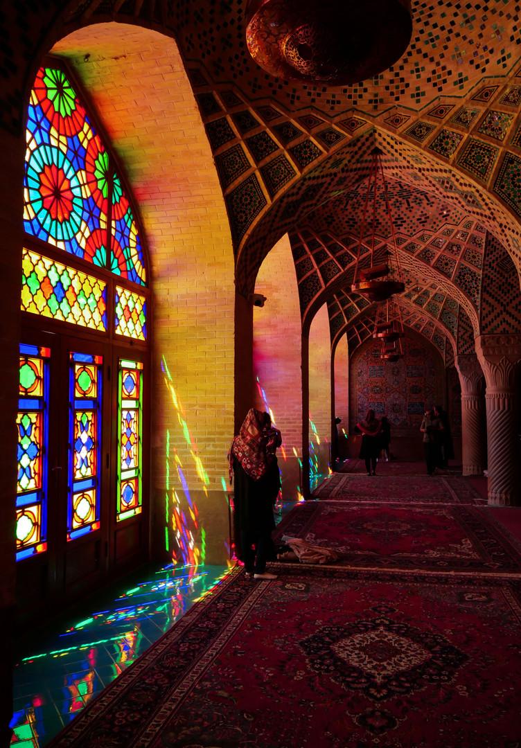 La Mosquée Rose de Shiraz