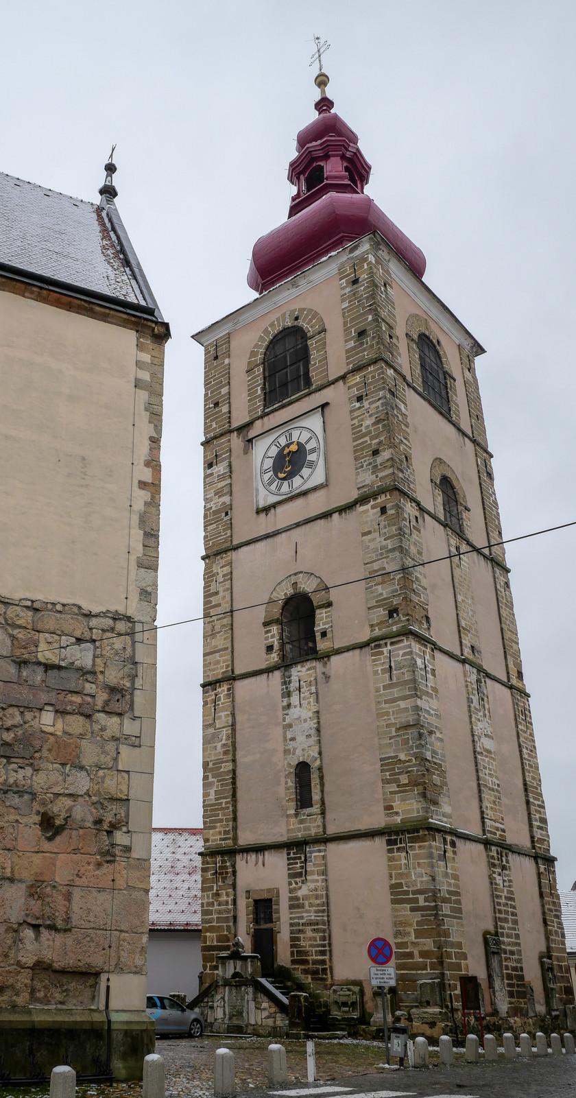 La tour de la ville de Ptuj