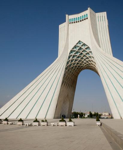 La tour Azadi de Teheran