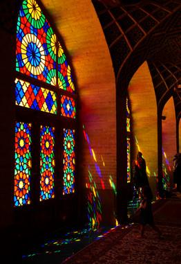 Mosquée Nassir-ol-Molk à Shiraz