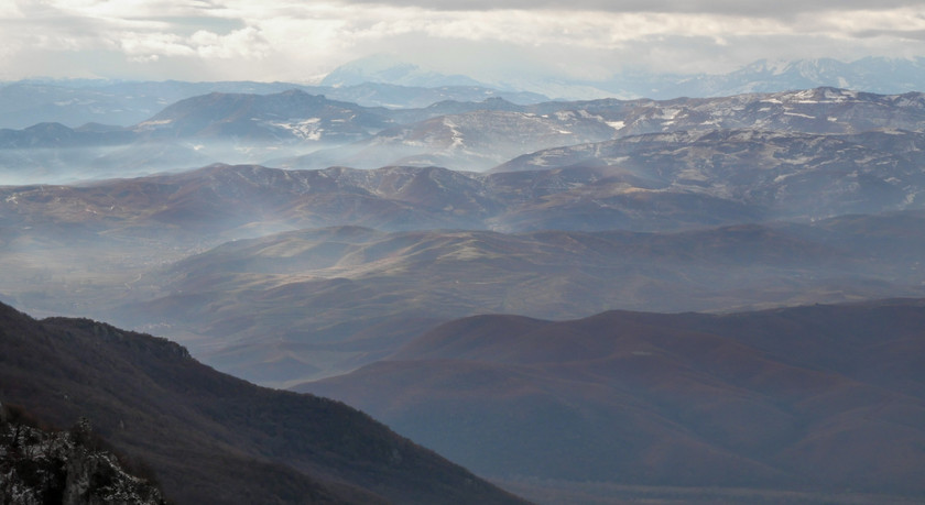 Panorama depuis le parc de Galichica