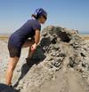 Les volcans de boue d'Alat