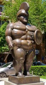 Sculpture contemporaine à la Cascade d'Erevan