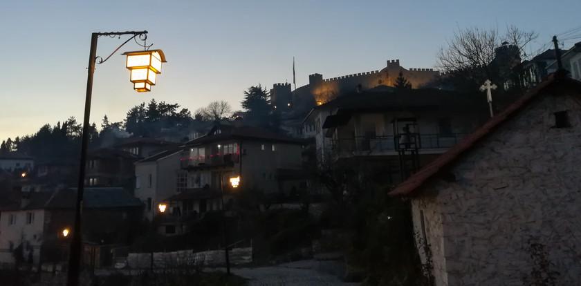 La vieille ville d'Ohrid