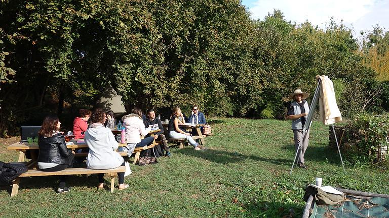 Formation permaculture avec Fabien Tournan : jour 2