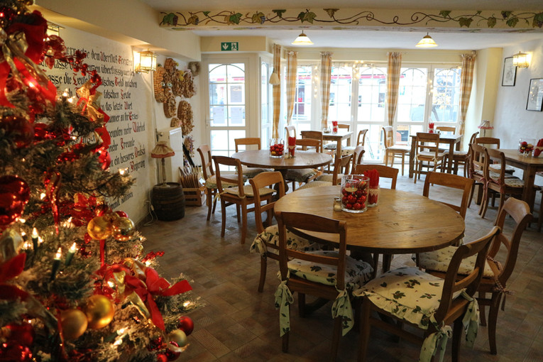 Restaurant zur Weihnachtszeit