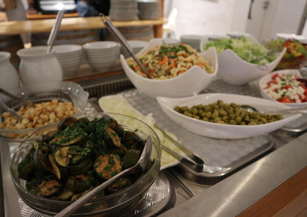 Kalte Vorspeisen/Salatauswahl