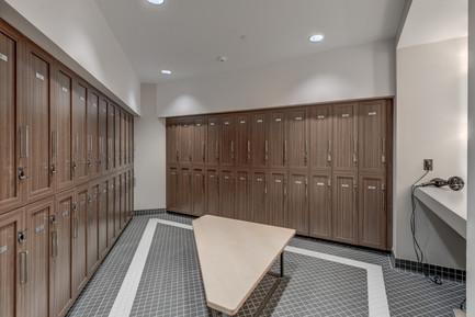 gym change room