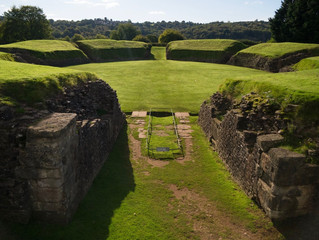 The Roman Fortress, Caerleon