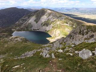 The Rhiniogydd Mountains